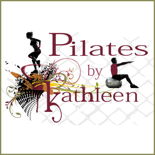 website design logo for a Pilates instructor